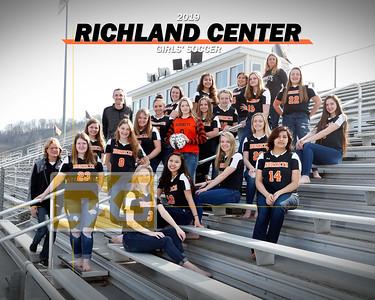 Richland Center girls' soccer GSOC19