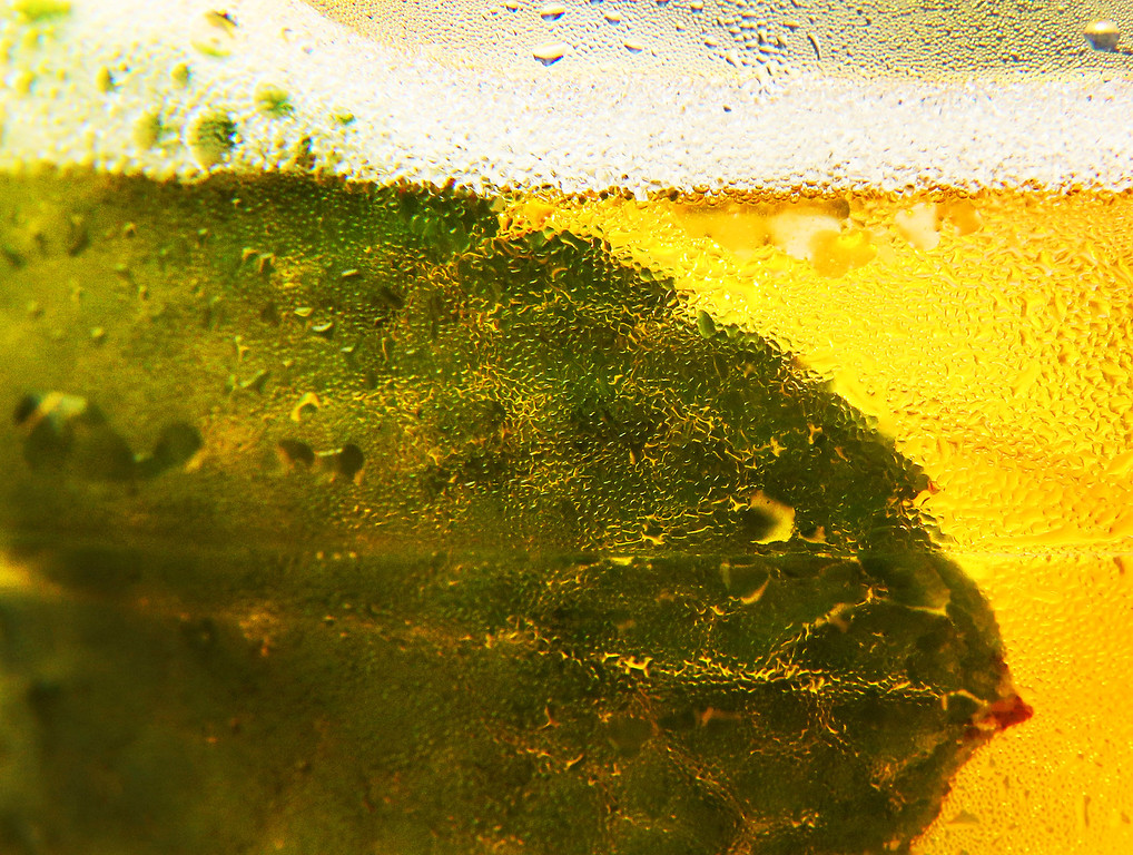. LONDON, ENGLAND - JULY 02:  A close up photograph shows a mint leaf in a Pimm\'s drink at the Wimbledon Lawn Tennis Championships on July 2, 2013 in London, England.  (Photo by Peter Macdiarmid/Getty Images)