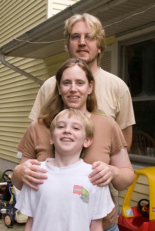 Lesli, Doug, Daniel, heads taller Aug. 13, 2011