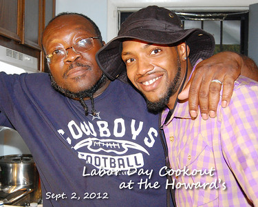Labor Day Cookout at the Howard's - Sept. 2, 2012 - photos by Tony & Toni