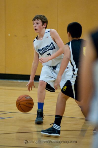 2011 8th Grade Basketball vs. Putnam