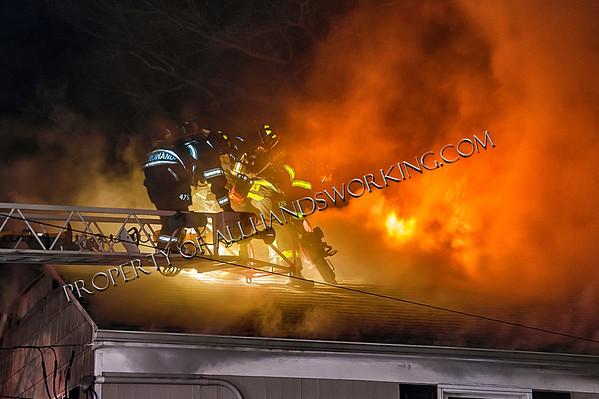 3rd alarm Kenilworth, NJ 186 Boulevard dwelling fire