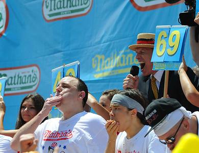Nathans Hot Dog Contest Coney Island