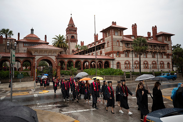 Flagler College Fall Graduation 2018