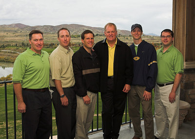 Portraits with Johnny Miller and Lavell Edwards