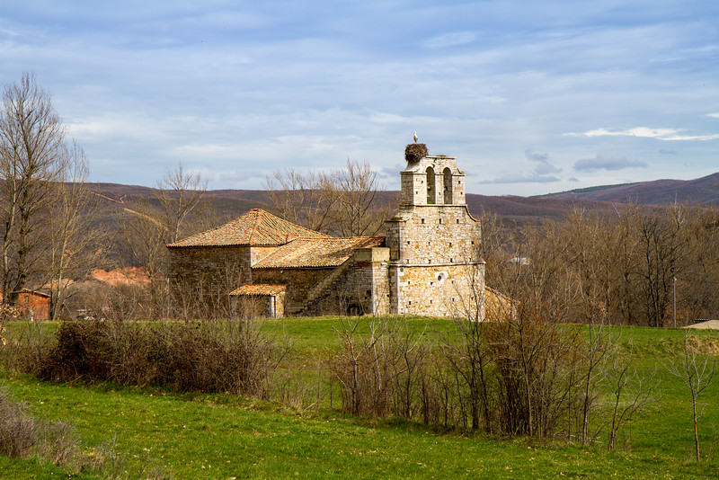 An old church by the side of the road