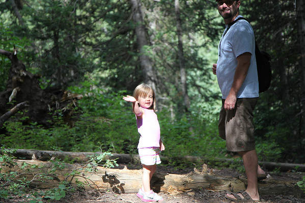 Donut Falls with Hailee July 2012