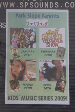 Park Slope Parents Concert #2 Gustafer Yellowgold