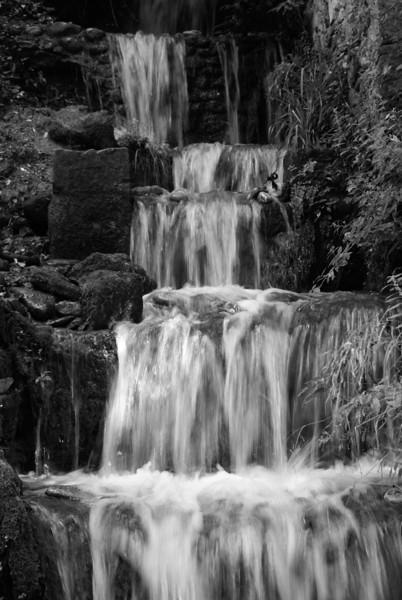 Water falling at La Alhambra, Granada