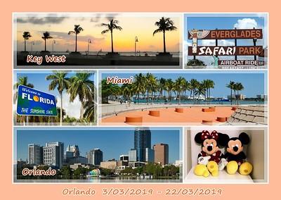 Orlando (Florida) 3-22 maart 2019