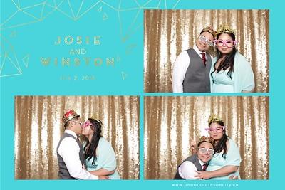 Josie Weds Winston July 2nd 2018