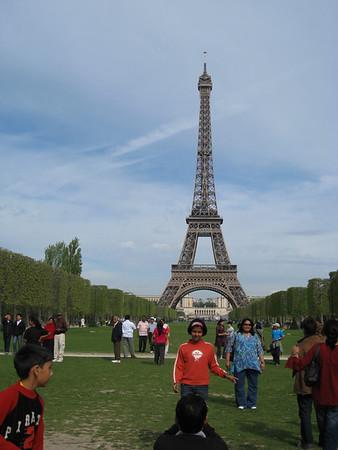 Eiffel Tower & Marais Walk 2008-04-27