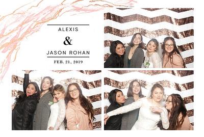 Alexis+Jason Rojan ~ Wedding Photo Booth