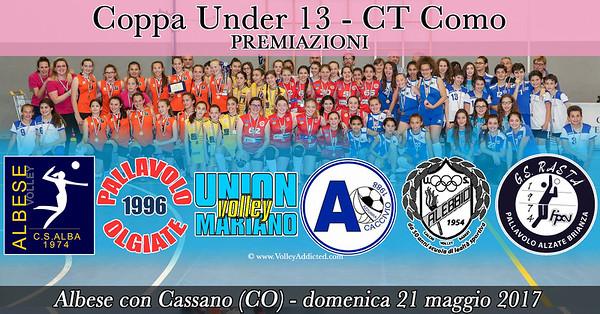 CO-Coppa u13 - PREMIAZIONI