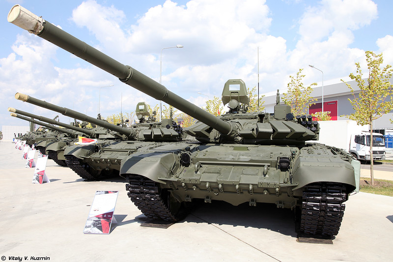 Military-technical forum ARMY-2017 - Static displays part 1: Tanks, IFVs and APCs, Airborne, Artillery, CBRN defense