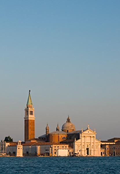 San Giorgio Maggiore, 16th century Benedictine Church Designed in Classical Renaissance  Style by Andrea Palladio, Island of San Giorgio Maggiore, Venice, Veneto, Italy
