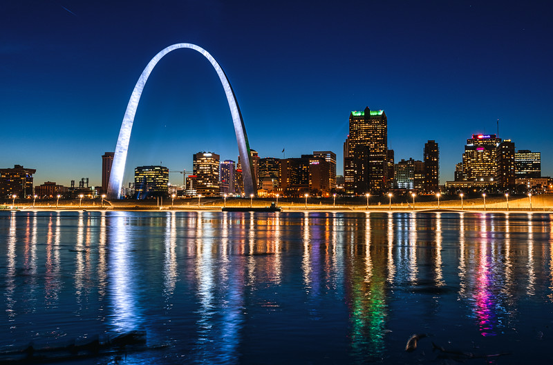 Gateway Arch and Downtown
