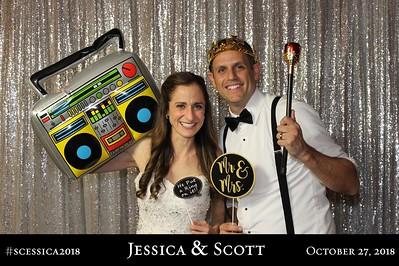 Jessica and Scott James