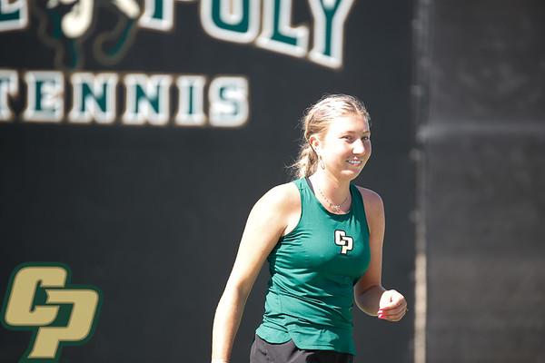 Cal Poly Women's Tennis vs. UCSD 04102021