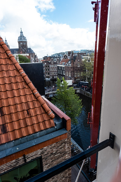 The Rooftops of Amsterdam