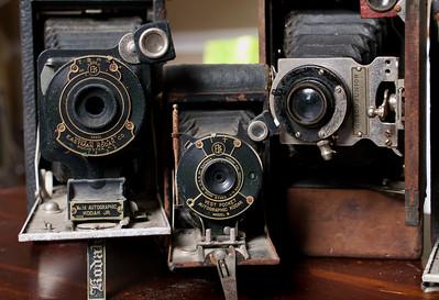 Old Cameras Natural Light