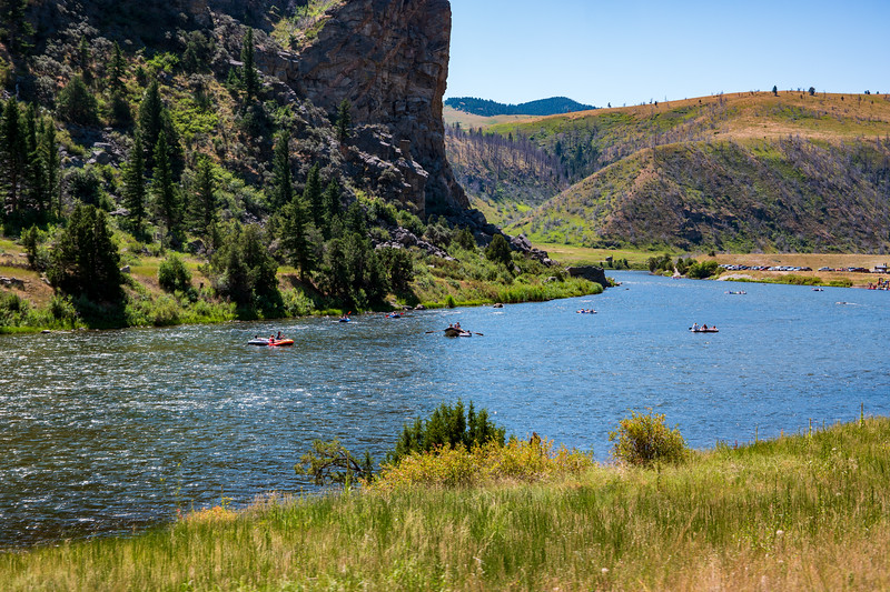Madison River Rafting in Montana