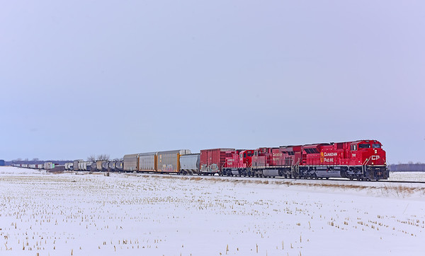 Canadian Pacific 752, Lacolle, Quebec, February 25 2020.