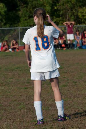 2012-10-05 Dayton Girls Varsity Soccer vs Roselle Park - Conf. Series #1 of 8