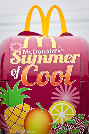 McDonalds Bangor Parade