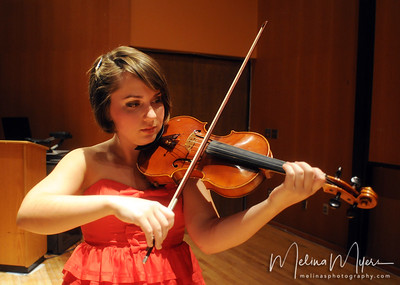 Becky Gaunt, Violin, Junior Recital
