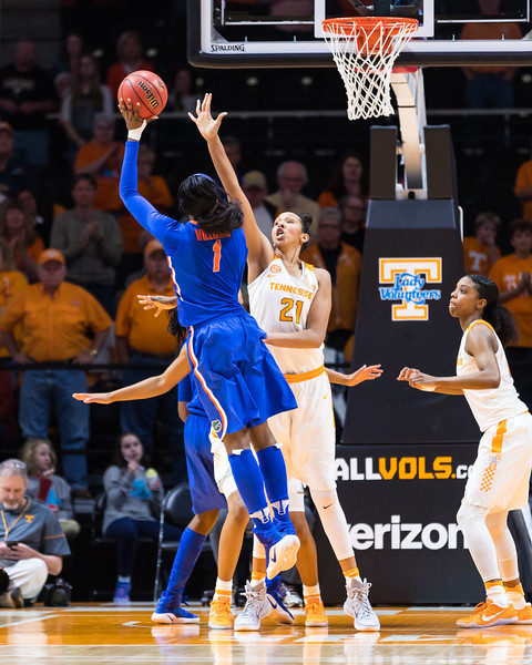 NCAA Basketball 2017: Florida vs Tennessee FEB 23