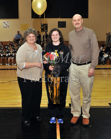 Berks Catholic VS Schuylkill Valley Senior Night 2011 - 2012