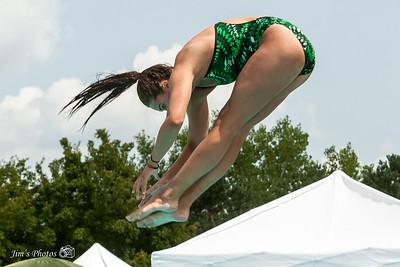 Swim - 2014 All-City Dive 15-18 Girls Warm-Ups