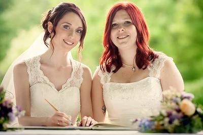 Sara and Naomi's Wedding Sneaky Peek
