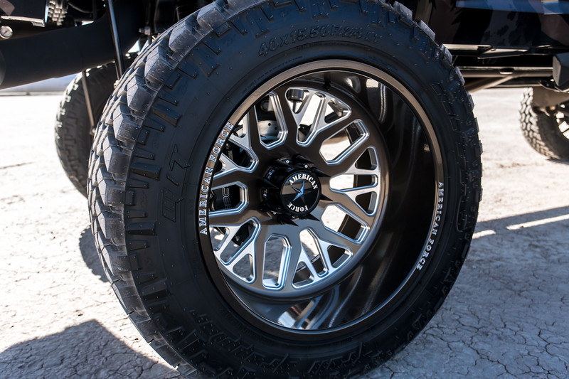 @Coreyrobinson66 2015 Dodge Ram 2500 MegaCab featuring our 24x14 PANIC from our Special Force Concave Series wrapped in 40x15.5r24 @NittoTires-146.jpg