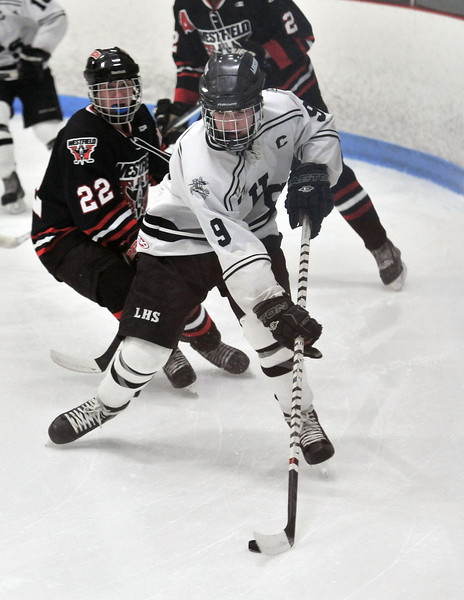 1/21/2014 Longmeadow VS Westfield Hockey