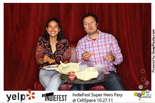 IndieFest Super Hero Party @ Cellspace 10.27.11