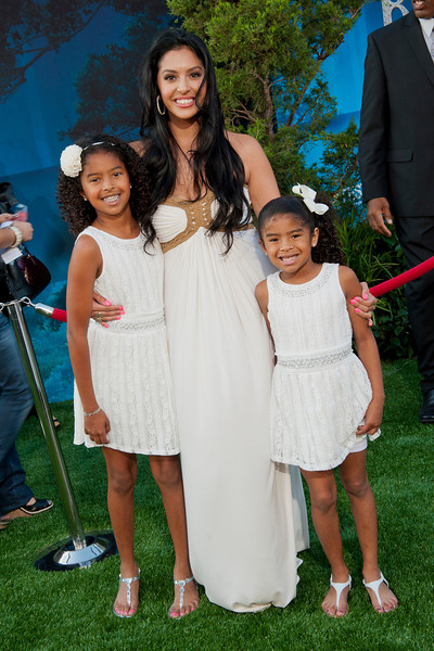 HOLLYWOOD, CA - JUNE 18: Vanessa Bryant and daughters (L-R) Natalia Bryant and Gianna Bryant arrive at Disney Pixar's 'Brave' World Premiere at Dolby Theatre on June 18, 2012 in Hollywood, California. (Photo by Tom Sorensen/Moovieboy Pictures)