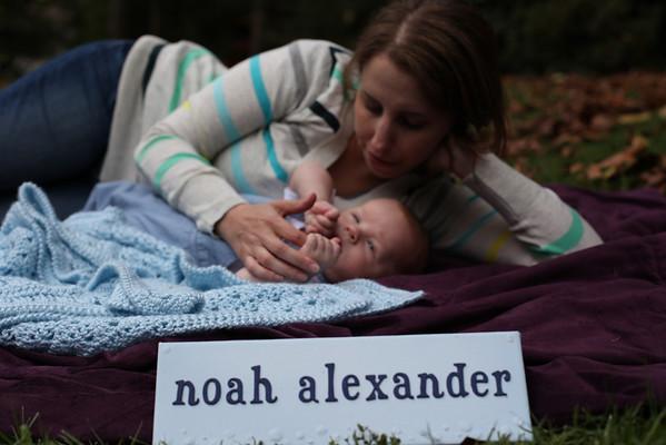 Noah's Nameplate - Oct. 2012