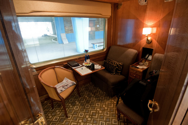 Inside the luxurious Blue Train in South Africa