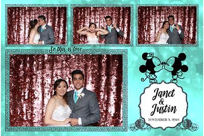 Janet & Justin's wedding