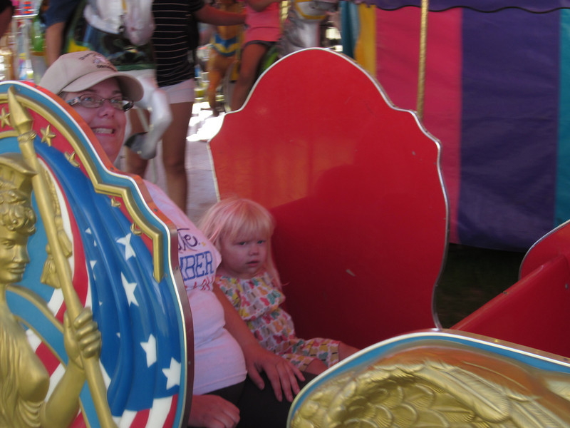 Only reason I can think of she didn't enjoy the horse on Thursday.