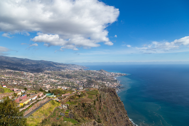 View over Madeira