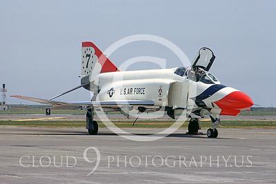 U.S. Air Force THUNDERBIRDS McDonnell Douglas F-4 Phantom II Airplane Pictures