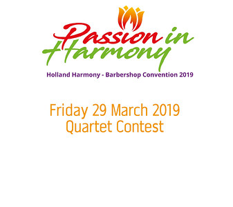 2019-0329 HH Conv Quartet Contest -HANS
