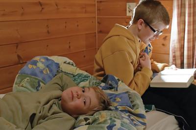 Oktober 2011: Herbstferien auf der Hütte im Sirdal