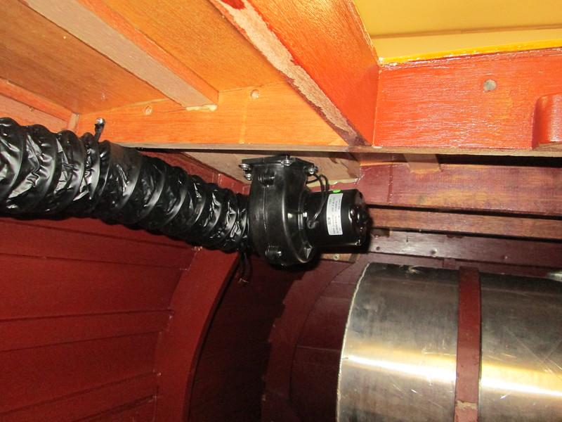 Bilge blower installed.