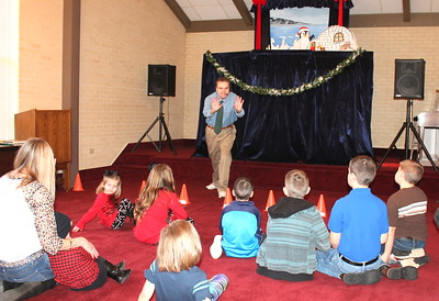 Snowbound In East Texas puppet show hosted by Friends of the Library