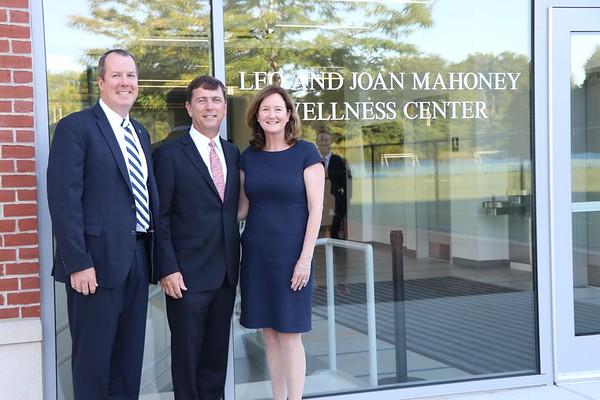 The Leo and Joan Mahoney Wellness Center