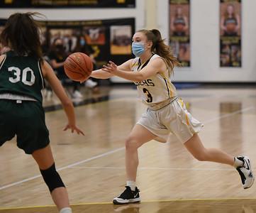 Hand Girls' Hoops Defeats Guilford in Regular-Season Finale